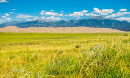 Great Sand Dunes National Park Southwest Colorado Royalty Free Stock Images