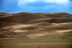 Great sand dunes Stock Photos