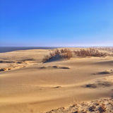 Great sand dunes Stock Images