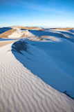 Great Sand Dunes in Snow Royalty Free Stock Photos