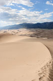 Great Sand Dunes -- Verticle Stock Images