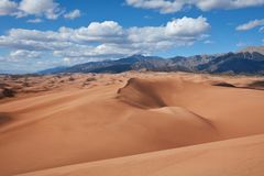 Great Sands Dunes Royalty Free Stock Image