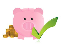 Great savings concept. Illustration design over a white background Stock Photo