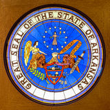 Great Seal of the State of Arkansas Stock Photo