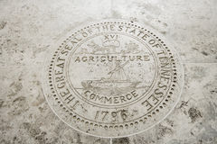 Great Seal of the State of Tennessee in Fort Bonifacio, Manila, Philippines Royalty Free Stock Photography