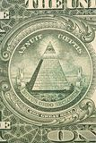 Great Seal of the U.S. from back dollar bill. Royalty Free Stock Photography