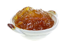 Great Serving Orange Marmalade Royalty Free Stock Photography