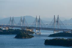 Great Seto Bridge Royalty Free Stock Photos