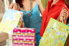 Great shopping Royalty Free Stock Photo
