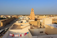 Great Sidi Oqba Mosque in Kairouan, Tunisia Stock Photos
