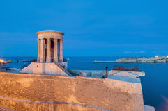 Great Siege Memorial in Valletta, Malta Royalty Free Stock Photos