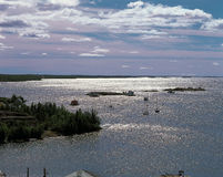 Great Slave Lake Royalty Free Stock Photos