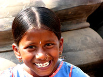 Great Smiley. A cute little Indian girl Stock Images