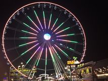 Great Smoky Mountain Wheel at The Island in Pigeon Forge, Tennessee Royalty Free Stock Images