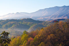 Great smoky mountains Royalty Free Stock Image