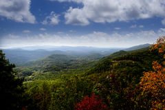 Great Smoky Mountains Images libres de droits