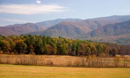The Great Smoky Mountains. In Autumn Stock Image