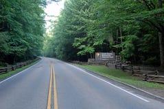 Great Smoky Mountains-Eingang Lizenzfreies Stockbild