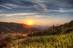 Great smoky mountains, hdr Royalty Free Stock Images