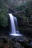Great Smoky Mountains National Park. Grotto Falls Stock Image