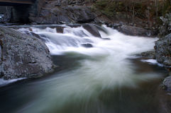 Great Smoky Mountains National Park. The Sink Waterfall royalty free stock photography