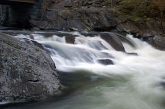 Great Smoky Mountains National Park. The Sink Waterfall Royalty Free Stock Image