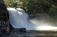 Great Smoky Mountains National Park. Abrams Falls Royalty Free Stock Photography