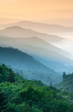 Great Smoky Mountains Oconaluftee Valley Sunrise Stock Photography