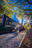 Great smoky mountains rail road autumn season excursion Royalty Free Stock Photo