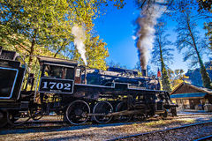 Great Smoky Mountains Rail Road Autumn Season Excursion Stock Photography