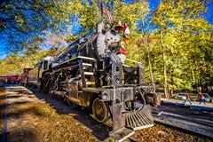 Great smoky mountains rail road autumn season excursion Royalty Free Stock Photography