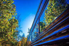 Great smoky mountains rail road train ride Royalty Free Stock Photography