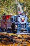 Great smoky mountains rail road train ride Stock Photos