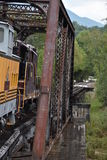 Great Smoky Mountains Railroad in Bryson City, North Carolina. USA Stock Photography