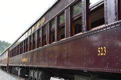 Great Smoky Mountains Railroad in Bryson City, North Carolina. USA Royalty Free Stock Image
