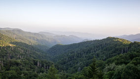 The Great Smoky Mountains Stock Photo