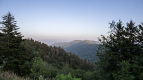 The Great Smoky Mountains Royalty Free Stock Photography