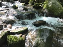 Great Smoky mtn park. Waterfalls Smoky mountains Stock Photo