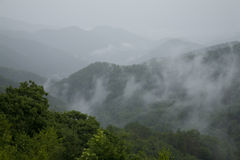 Great Smoky Mtns Nat. Park, TN-NC. Storm Clearing, Great Smoky Mountains National Park, TN-NC royalty free stock photos