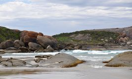 Great Southern Ocean: Secluded Beach in Western Australia stock photography