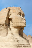 The great sphinx Stock Photography