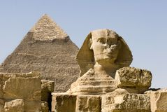 The Great Sphinx Stock Photo