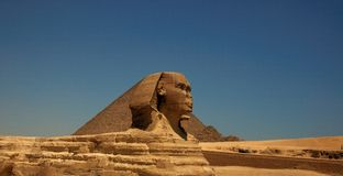 The Great Sphinx of Giza 2 stock photography