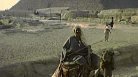 Great Sphinx of Giza archival stock video