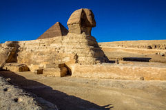 The Great Sphinx of Giza, Cairo, Egypt. This is a picture of the Great Sphinx of Giza, Cairo, Egypt Stock Images