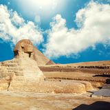 The Great Sphinx in Giza stock photo
