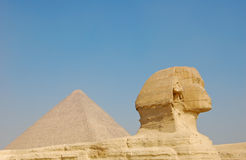 Great Sphinx of Giza in Egypt Royalty Free Stock Photos