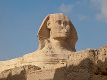 Greate Sphinx. The Great Sphinx of Giza in Egypt royalty free stock photo