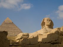 Greate Sphinx. The Great Sphinx of Giza in Egypt royalty free stock image