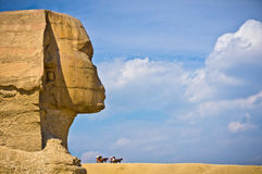 The Great Sphinx in Giza Stock Images